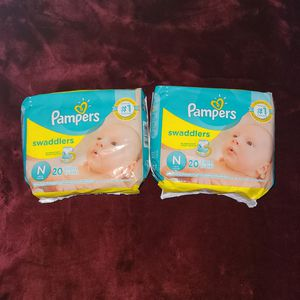 Newborn Pampers Swaddlers for Sale in Irving, TX