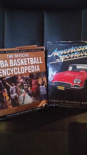 NBA Encyclopedia 1994✨American Sports cars starting with models from 1911 for Sale in Evansville, IN