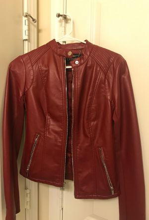 Express leather jacket size XS for Sale in Rockville, MD