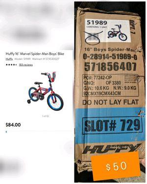 Huffy 16' marvel spider man boys bike for Sale in Lemoore, CA