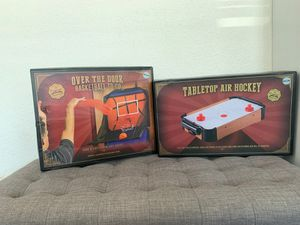 GAMES - AIR HOCKEY AND BASKETBALL for Sale in Phillips Ranch, CA
