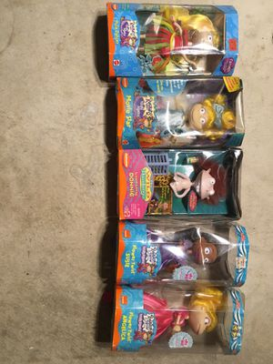 Rugrats and wild thornberry Nickelodeon figures for Sale in San Antonio, TX