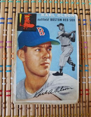 Topps 1954 - Carl Olson - Boston Red Sox for Sale in Montclair, NJ