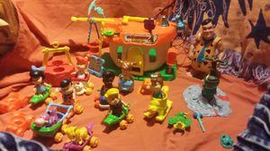 Vintage Flintstone elementary toys for Sale in Denver, CO
