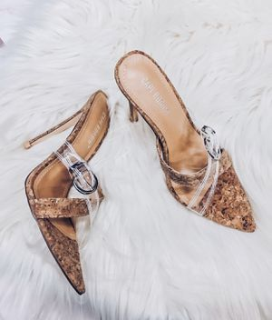 Ionic cork heels for Sale in Lynwood, CA