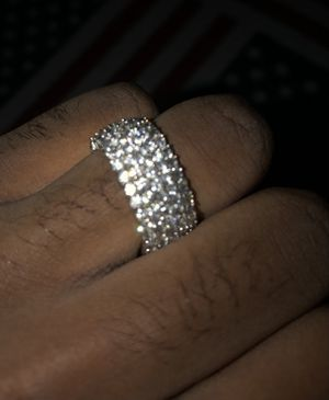 14 karat white gold wedding ring for Sale in Federal Way, WA