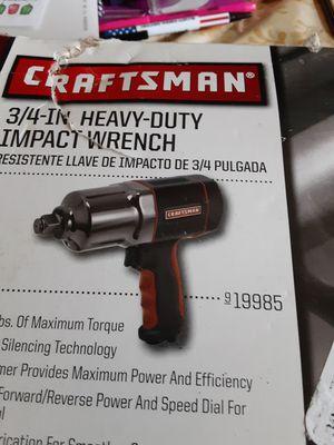 Craftsman 3/4 in. Heavy Duty impact wrench for Sale in Seymour, TN