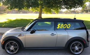 $800 URGENT!I Selling 2009 MINI Cooper Clubman S,Very clean!Clean Tittle!Runs and drives great.Nice family car!one owner for Sale in Fresno, CA
