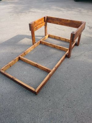 Handmade twin size bed frame for Sale in Murfreesboro, TN