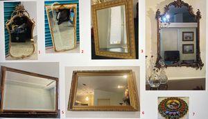 Gorgeous Antique vintage mirrors / espejo for Sale in Miami, FL