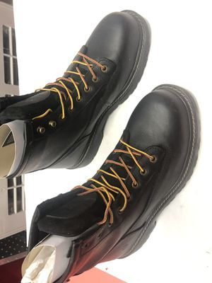 🇺🇸💥 Wolverine Men's Raider Waterproof 6'' Work Boots - Steel Toe - Black Size 9.5(W) for Sale in Los Angeles, CA