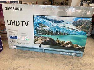 "Samsung 65"" TV 📺 un65ru710D 6 4 Q for Sale in Anaheim, CA"