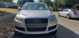 2007 Audi Q7 Premium SUV. 134k miles.  4 Doors, V6 3.6L.  Leather seats, panoramic sunroof, Navigation GPS.  Runs and drive good. Cash only. for Sale in Rowlett, TX