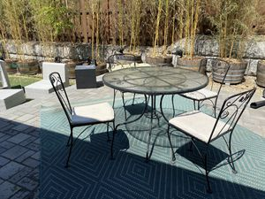 Wrought Iron Patio Table & Chairs for Sale in Beaverton, OR