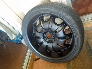 22 inch tires and rims for Sale in Port St. Lucie, FL