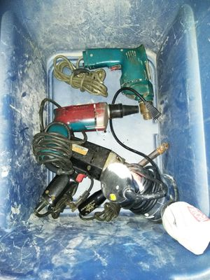 Power tools with cords for Sale in San Diego, CA