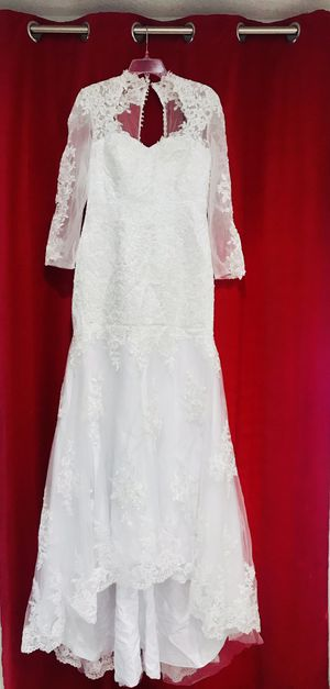 Wedding Dress. New! Size 10. Payment Only Vía Zelle or Cash!!! for Sale in Miami, FL