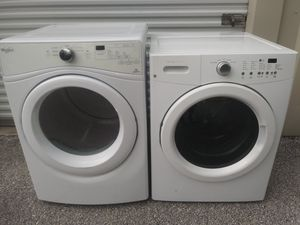 Frigidaire Washer and Whirlpool Dryer for Sale in Winter Haven, FL