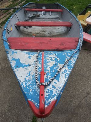 16ft aluminium fishing boat for Sale in Romulus, MI