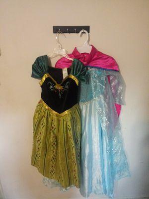 Disney Anna and Elsa dress $10 a piece for Sale in Virginia Beach, VA