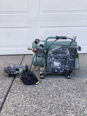 Hitachi EC 12 Compressor + Senco SCN40R Nail Gun for Sale in Elk Grove, CA