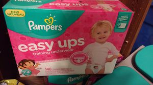 Pampers Easy Ups pull-ups sz 5 3t-4t 148 ct for Sale in South Jordan, UT