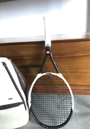 Wilson Tennis Racket and Tennis Bag for Sale in Miami, FL