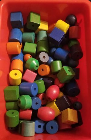 Toddler toy wood beads for Sale in National City, CA