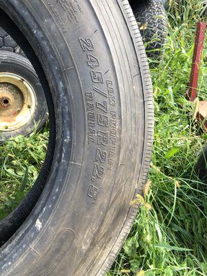 Semi trailer tires Bridgestone 245/75 r22.5 for Sale in Parma, OH