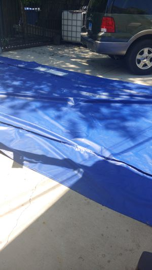 Tarp flat bed or any use is 36×16 clean and used just once for Sale in Chicago, IL