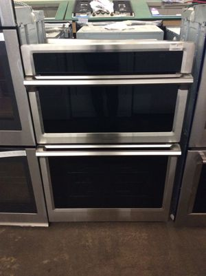 (Anoka 3681-SM KS) Samsung Double Wall Oven With Microwave for Sale in Ramsey, MN
