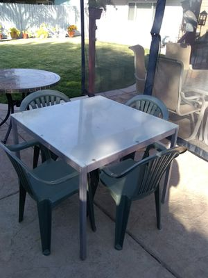 Patio table and chairs! for Sale in Acampo, CA