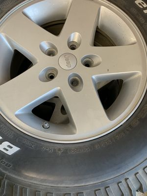 Jeep Wrangler Rims/Tires for Sale in Lockport, IL
