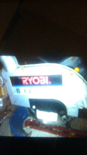 "Ryobi table saw 8 1/2"" 22mm for Sale in Tacoma, WA"