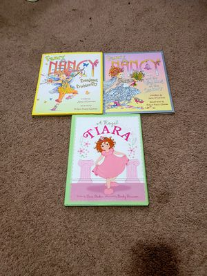 2 Fancy Nancy books and A Royal Tiara book for Sale in Tacoma, WA