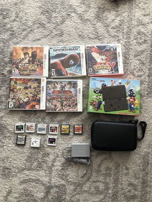Brand New. New Nintendo 3DS special edition + 14 games + case + charger for Sale in Miami, FL