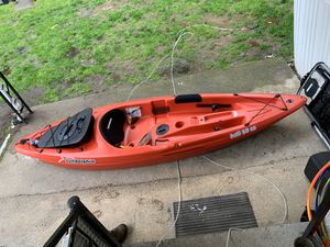 Kayak and some fishing gear for Sale in Marlborough, MA
