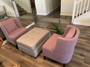 NEW BOX Brand new sofa two and ottoman for Sale in Fontana, CA