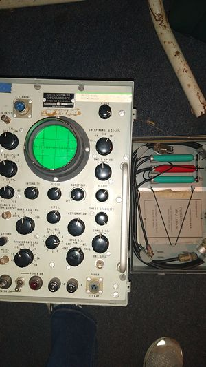 Vintage oscilloscope meter. Electrical for Sale in Middletown, PA