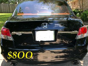 💝🟢💲8OO I'm selling URGENT! 2OO9 Honda Accord Runs and drives great.Clean title in hand! Mechanically perfect!💕💝very strong V6.✅🎁 for Sale in Bridgeport, CT