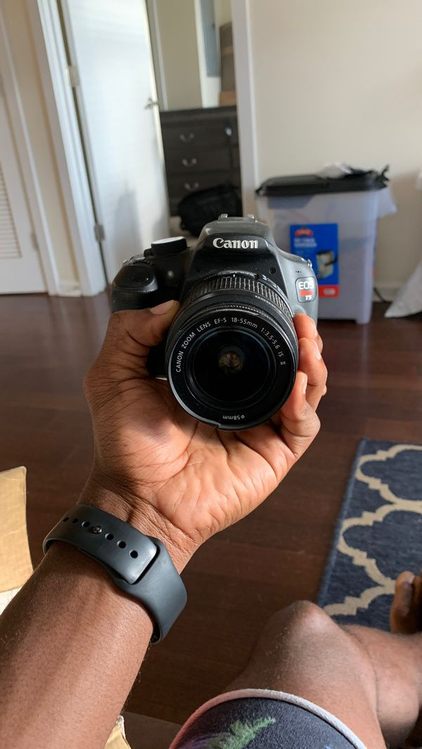 Canon EOS rebel T5 EF-S - good condition!