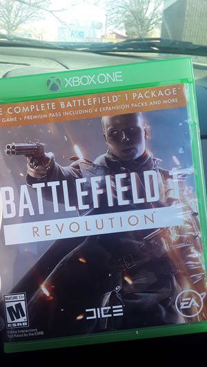 Battlefield 1 revolution xbox one for Sale in McIntosh, NM