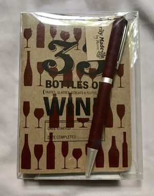 🍷📕 Wine Tasting Journal Book With Pen - - Libro De Vino for Sale in Chicago, IL