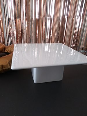 White Square cake stand wedding events banquet parties for Sale in Lithonia, GA