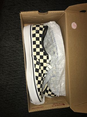 Vans Authentic White and Black Ckr for Sale in Reno, NV
