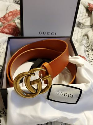 Gucci leather belt- size 30-34 😍🔥 for Sale in Greenwich, CT