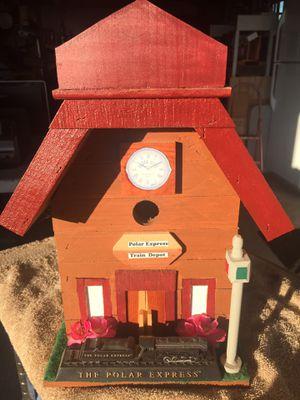 Polar Express Train Station Bird House for Sale in Mountainburg, AR