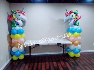 Unicorn balloons columns for Sale in Leesburg, VA