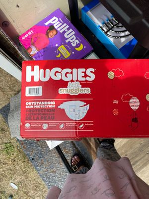 Huggies size 3 for Sale in Riverview, FL