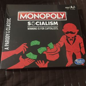 Monopoly Socialism Board Game for Sale in Brooklyn, NY